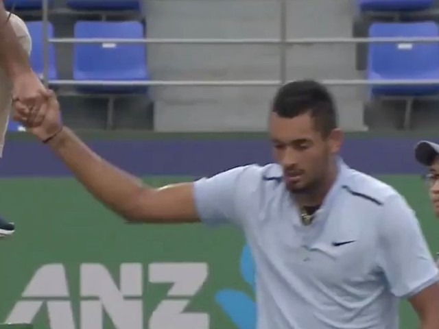 How many more times will Nick Kyrgios behave like this? The Enfant Terrible of tennis is becoming increasingly tiresome