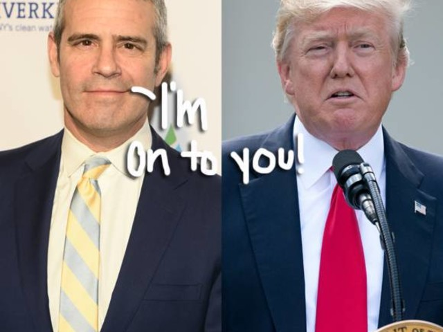 Andy Cohen Is Convinced Donald Trump Watches Real Housewives! Quotes Of The Day!