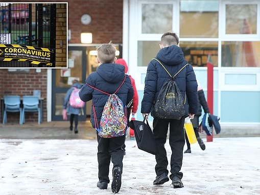 When WILL schools reopen? Daily Covid testing in English classrooms is SCRAPPED