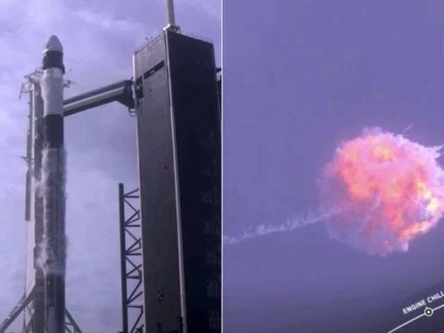 SpaceX and NASA just blew up a Falcon 9 rocket on purpose, and it has something to do with Apollo 1