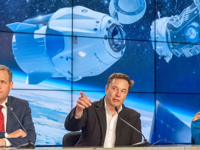 Elon Musk says he'd happily ride SpaceX's new Crew Dragon spaceship — 'I think it's a good vehicle'