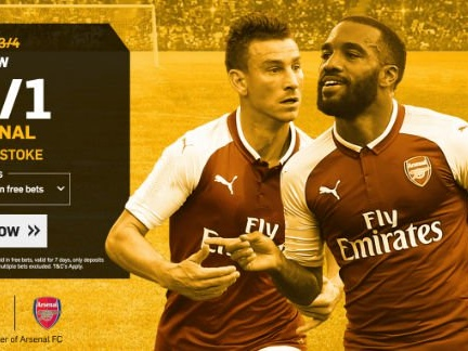 Stoke City v Arsenal: 25/1 enhanced odds, kick-off time, prediction and betting tips