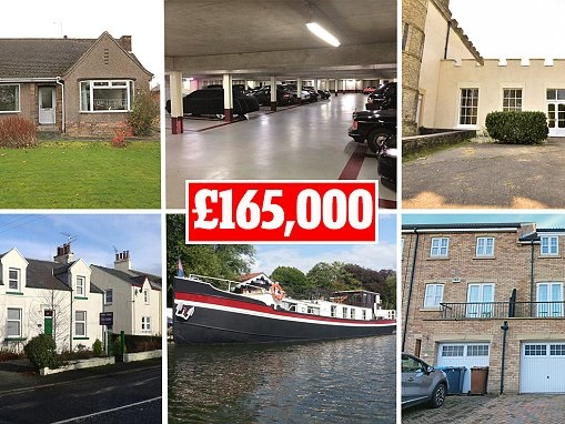 Ten homes an average UK first-time buyer could afford