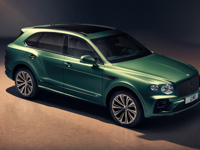 Bentley Bentayga updated with fresh looks and new technology