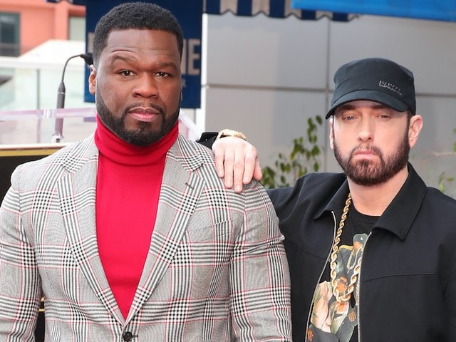 50 Cent Reveals How He Got Eminem to Do 'BMF' Series After 'Terrible Experience' on '8 Mile' (Video)