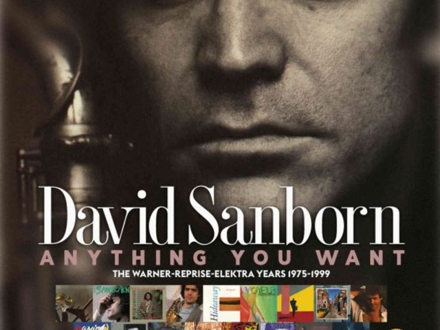 David Sanborn: Anything You Want (The Warner-Reprise-Elektra Years 1975-1999) – album review.