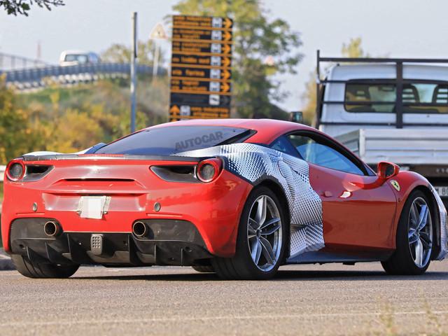 Ferrari 488 GTO: leaked specs of 700bhp race-derived V8 engine
