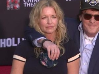 Michael Madsen apologizes to wife at handprint ceremony