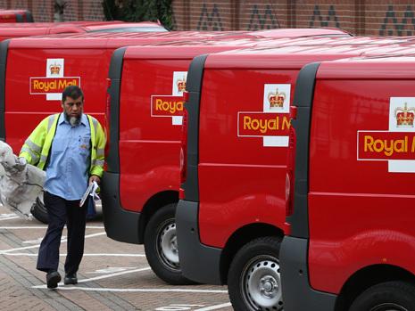 Royal Mail set for Christmas strike chaos