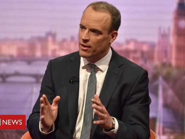 Tory leadership: Dominic Raab enters race