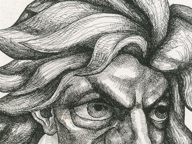 In Portrait: Beethoven, from dignity to madness...