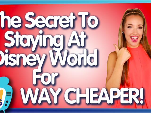 AllEars TV: The Secret to Staying at Disney World for WAY Cheaper!