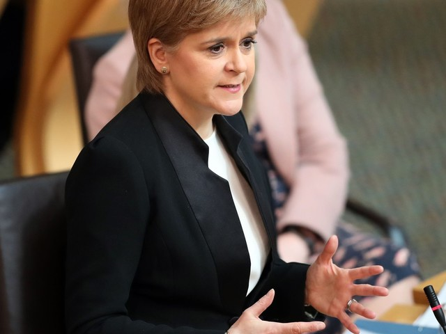 Scottish Parliament Backs Second Independence Referendum As Article 50 Looms
