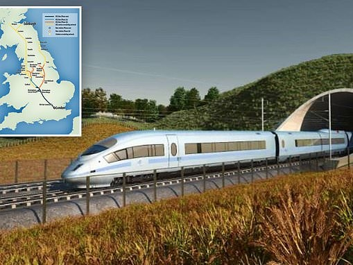 Fresh blow for HS2 as study says noise levels would breach new World Health Organisation limits
