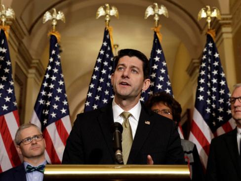US House passes short-term spending bill; sends to Senate