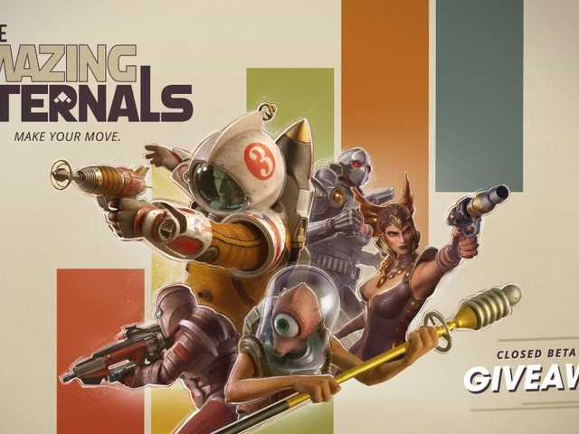 GIVEAWAY! We have 3,500 closed beta keys for new hero shooter The Amazing Eternals on PC