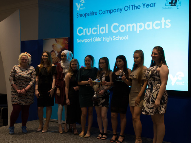 Young Enterprise Shropshire Finalists Crucial Compacts