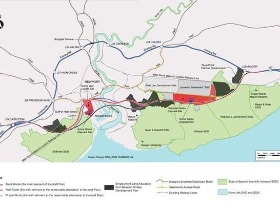 M4 Newport relief road scrapped: environment v economics