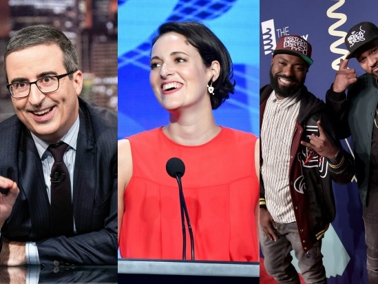 Inside the TCA Awards: Phoebe Waller-Bridge Is the Best, Michelle Williams Shouts Out 'Full House'