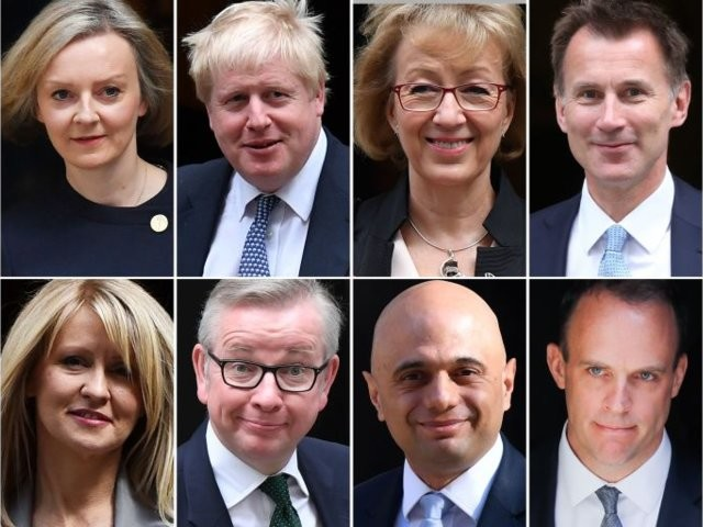 Here are the frontrunners to replace Theresa May as Conservative party leader and prime minister