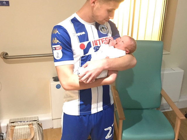 League One: Wigan Winger Ryan Colclough Scores Twice, Gets Subbed Off In 58th Minute, Rushes To Hospital For Birth Of Second Child (Photo)