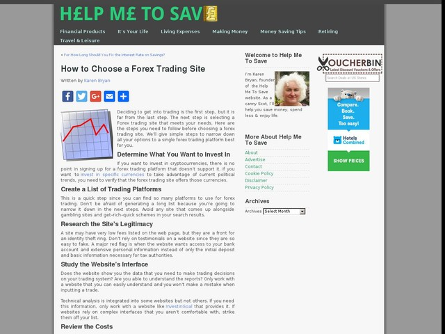 How to Choose a Forex Trading Site