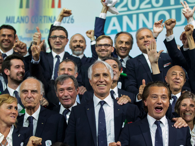"Malagò hails ""fantastic team"" as Milan Cortina 2026 President praises crucial political support in successful bid"