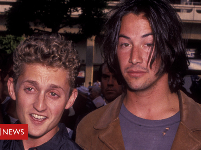 Excellent! Bill and Ted to go on summer adventure