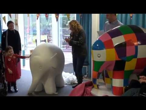 Metro's all set to host an Elmer the Elephant public art trail