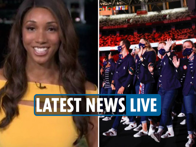 Olympics Opening Ceremony primetime – Maria Taylor makes NBC debut & viewers baffled by Ralph Lauren & Armani outfits