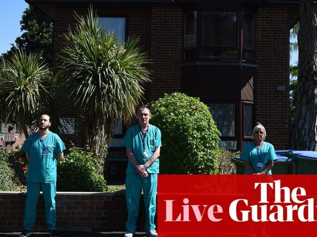 UK coronavirus live: England lockdown easing is premature, says Burnham