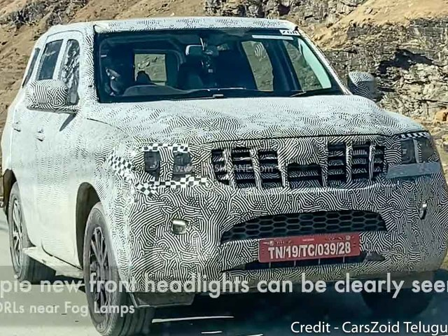 2021 Mahindra Scorpio, XUV500, Thar SUV Test Mules Spied Together In Manali
