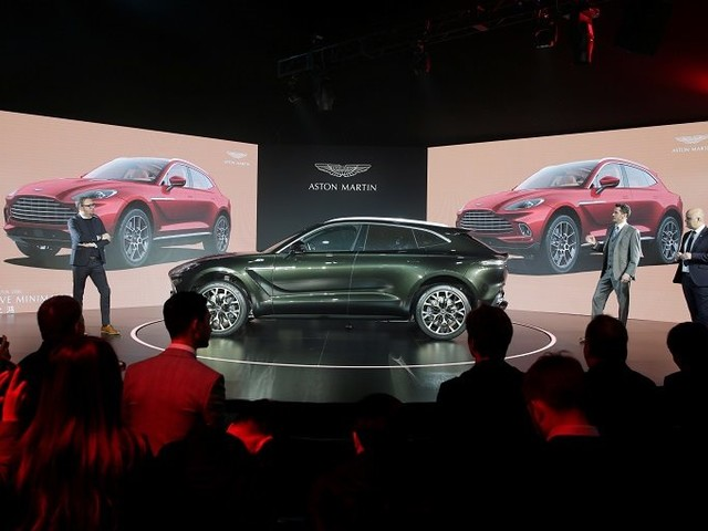 Aston Martin's First SUV, DBX Rolls Off Production Line
