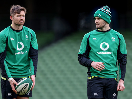 'It probably illustrates the way Ireland are looking to develop their attack'