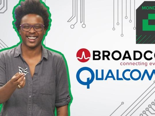 Crunch Report | Broadcom has its eyes on Qualcomm