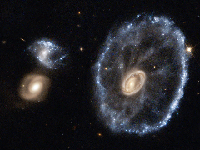 Image: Hubble's Cartwheel Galaxy
