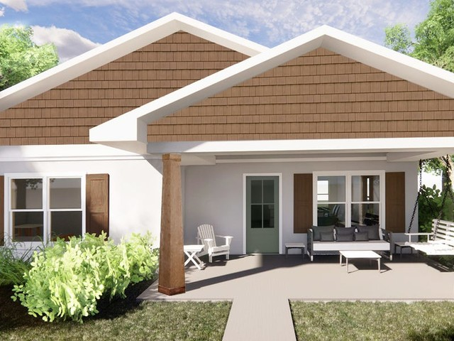 Habitat for Humanity is creating a 3D printed home for a family of 3 in Virginia -see inside