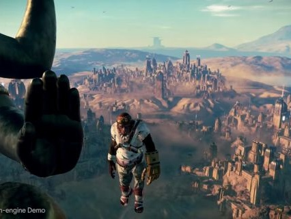 Beyond Good and Evil 2's in-engine demo of space flight