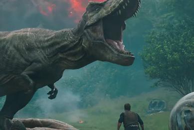 'Jurassic World: Fallen Kingdom' Trailer: Watch Chris Pratt Run For His Life