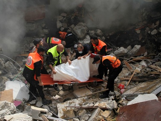 Israel launches airstrikes on Gaza in deadliest attack since latest violence began