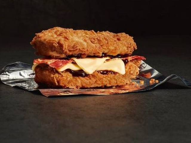 The new KFC Double Down burger isn't as bad for you as you'd probably think
