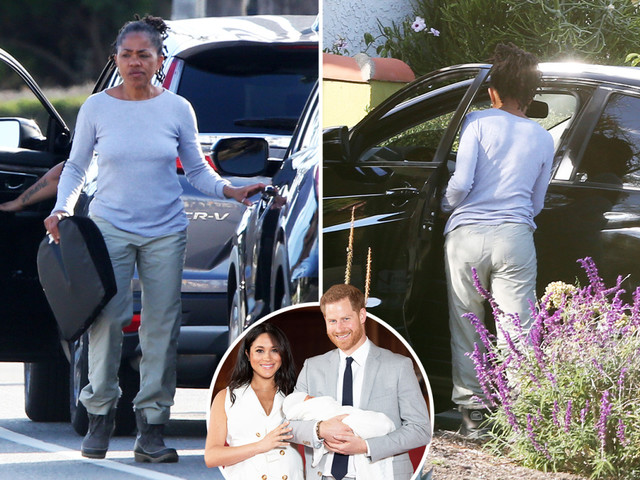 Meghan Markle's mum Doria Ragland gets the royal treatment with a new car delivered to her door