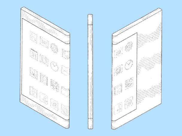 Samsung Patent Tips Phone With Wraparound Display