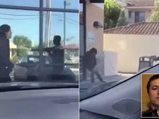 Video shows man punching California cop before shooting