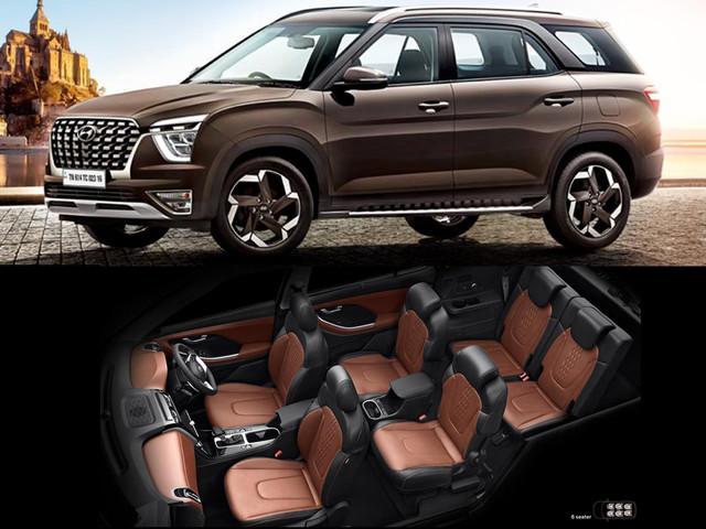 Hyundai Alcazar bookings commence, interiors revealed