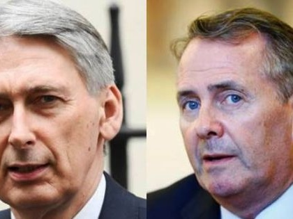 UK government show of unity: Hammond and Fox share a column in the Sunday Telegraph