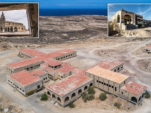 Inside Tenerife's eerie ghost town of Sanatorio de Abona, built to quarantine leprosy victims
