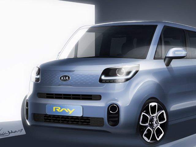2018 Kia Ray micro-car teased ahead of launch this month