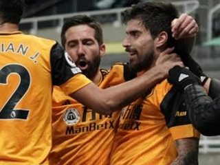 Relegation-threatened Newcastle held by Wolves 1-1 in EPL