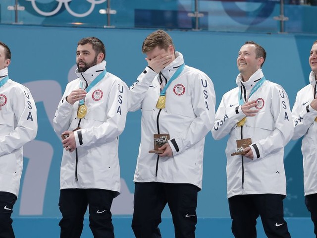 U.S. team takes the gold in curling, a dramatic win and historic Olympic moment